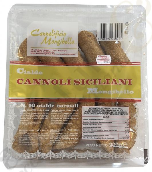 Cannoli Mignon 200g - Mongibello