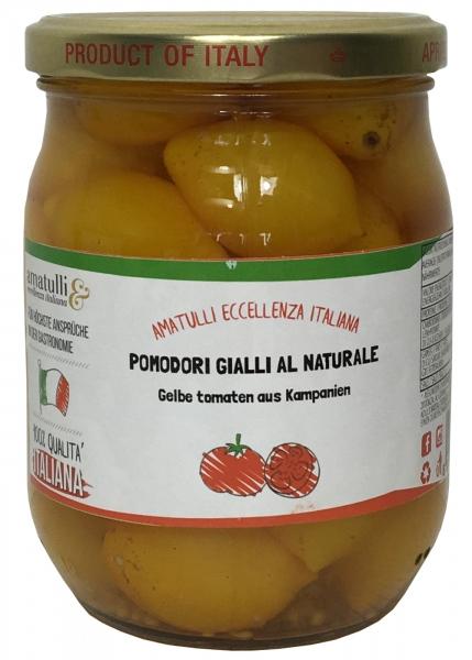 Pomodori Gialli da Serbo - gelbe Tomaten vom Vesuv 540g