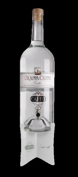 Grappa bianca morbida Caffo 3000ml - 40% - 3 Liter Magnum Flasche