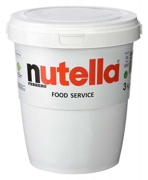 Nutella Ferrero 3000g - 3 kg Eimer