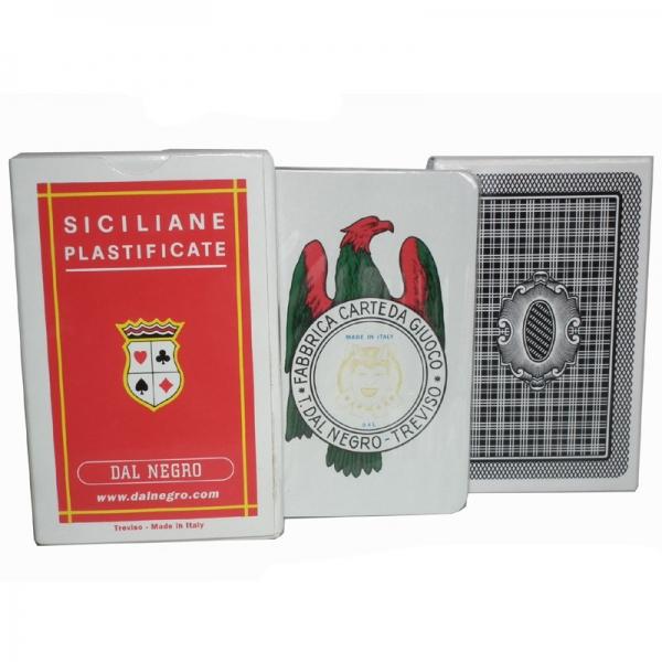 Scopa Spielkarten Siciliane Da Negro