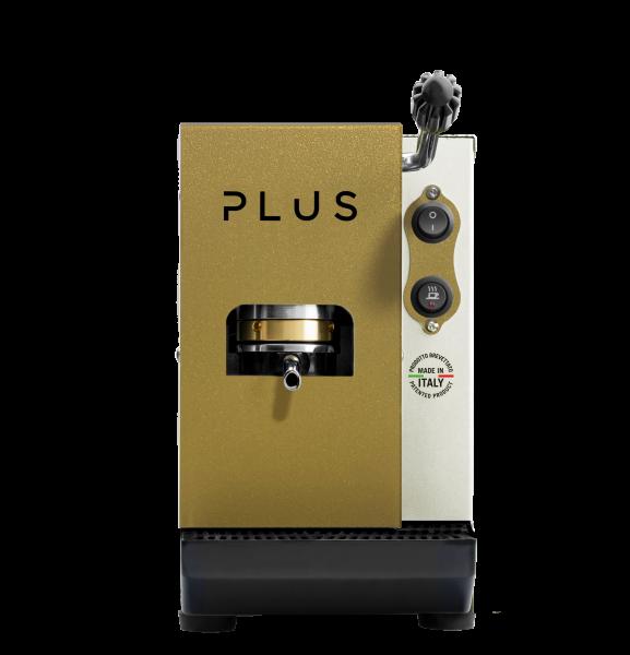 Aroma - PLUS Espressomaschine Beige / Gold ESE