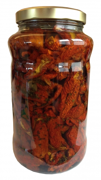 Getrocknete Tomaten in Öl - Pomodori secchi in Olio - 3100ml