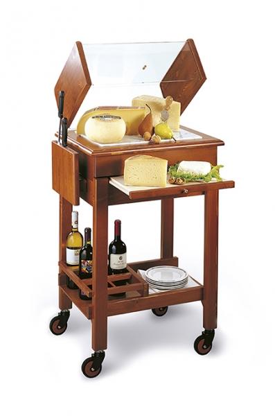 Mobiler Servierwagen für Käse: Carello Formaggio 340-CF-RE
