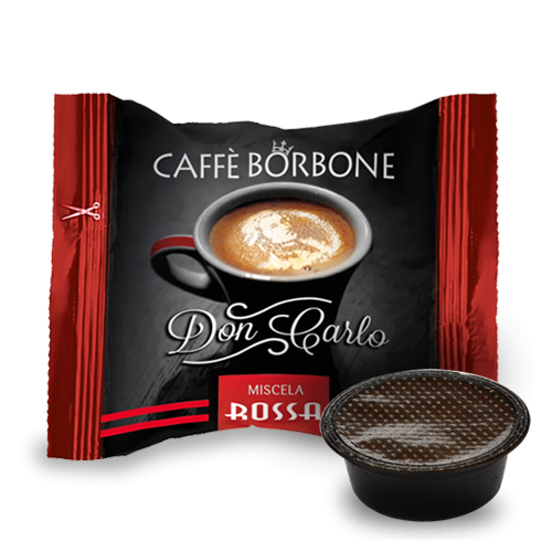 Caffé Borbone 100 Rosso - Red - Rot - Don Carlo
