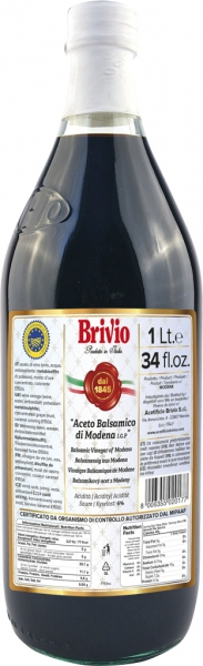 Aceto Balsamico di Modena I.G.P 1000ml