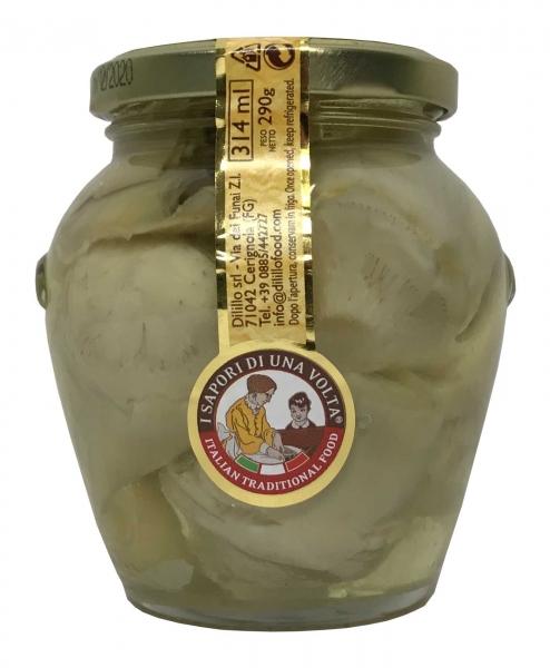 Carciofi in Olivenöl Artischocken 314 g / Glas Antipasti
