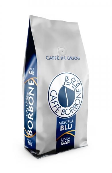 Caffè Borbone GranBar BLU 1kg Blau