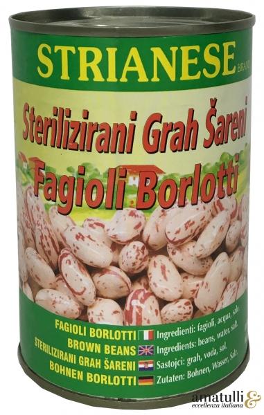 Fagioli Borlotti - Wachtelbohnen 400g.