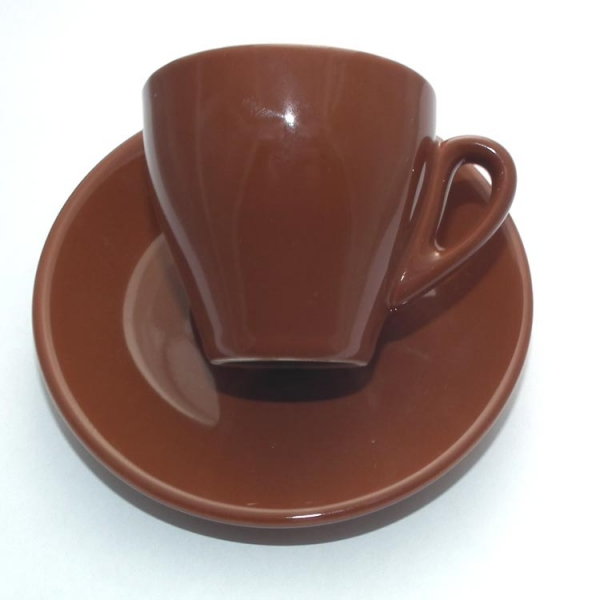 Nuova Point Milano braun Espresso / Caffe 6er-Set