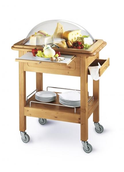Mobiler Servierwagen für Käse: Carello Formaggio 444-CF