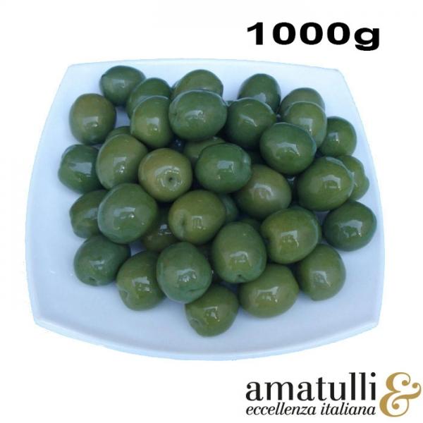 Olive Verdi Nocellara - grüne Oliven 1kg Beutel