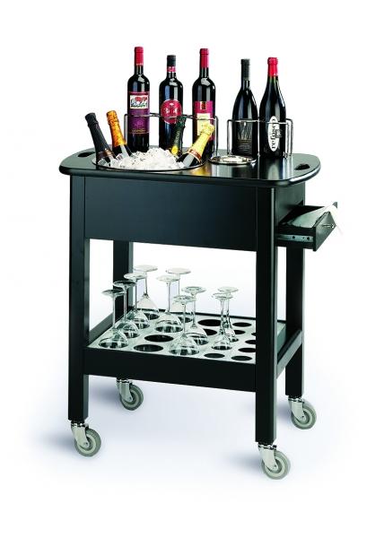 Mobiler Servierwagen für Wein: Carello Vini 436-CV