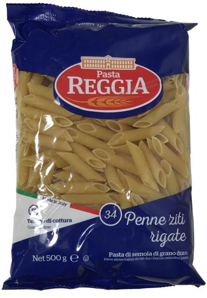Pasta Reggia Nr. 34 Penne Ziti Rigate - 500g