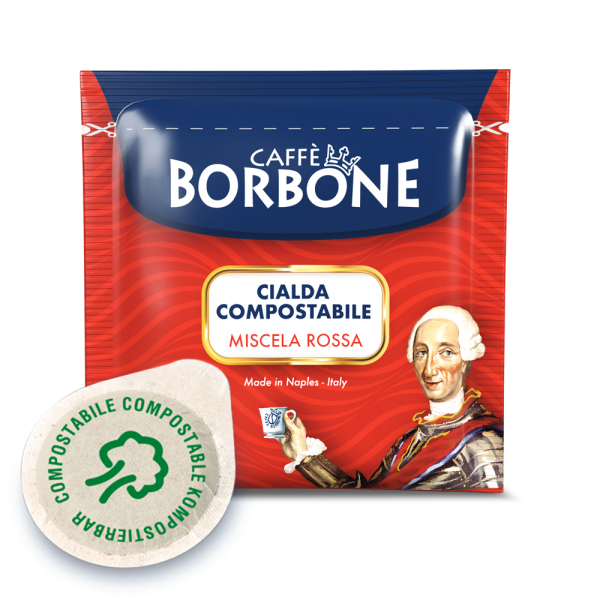 Caffé Borbone 150 Rosso - Red - Rot ESE Pads