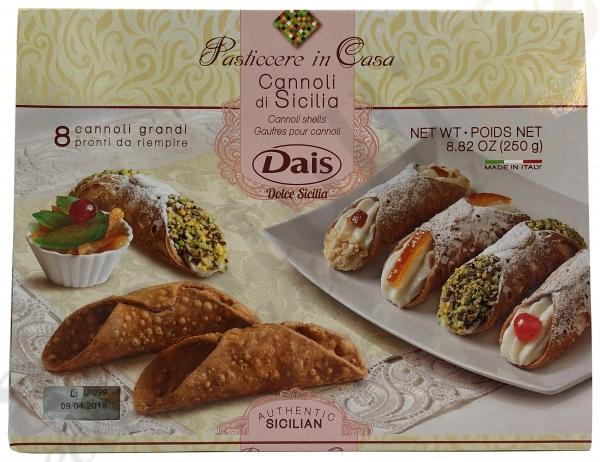Cannoli Grani 250g - Dias