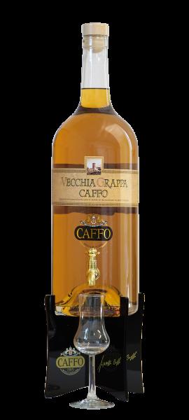 Vecchia Grappa Caffo 3000ml - 40% - 3 Liter Magnum Flasche