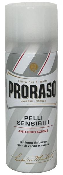PRORASO Pelli Sensibili - Rasierschaum für sensible Haut 50ml - Mini Dose-