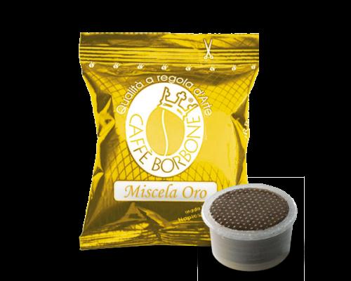 Caffé Borbone Oro - Gold 100 Espressokapseln