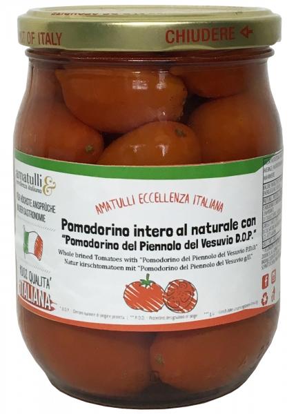 Pomodorino del Piennolo del Vesuvio D.O.P Tomaten vom Vesuv 530g
