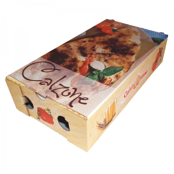 Pizzakarton CALZONE 150 Karton 31x17x70mm