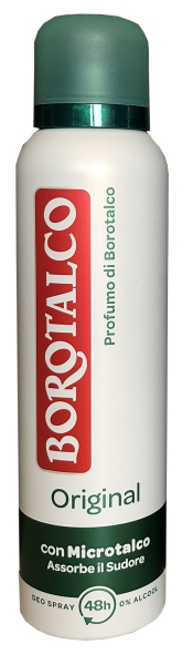 Roberts Borotalco Deo Spray Original Fresh 150ml