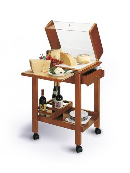 Mobiler Servierwagen für Käse: Carello Formaggio 340-CF