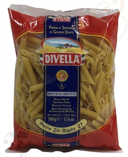 Pasta Divella Penne Ziti Rigate Nr. 27 - 500g