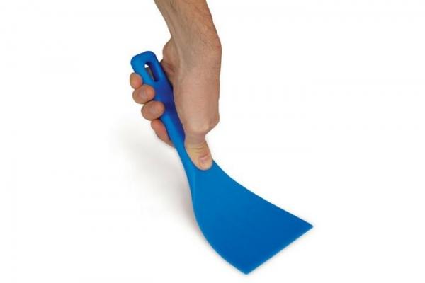 Pizza Teigspachtel Teigschneider 12cm - flexibler Kunststoffspachtel - GiMetal