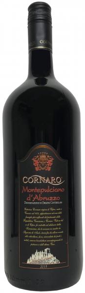 Montepulciano d'Abruzzo DOC 1,5 Liter - Cornaro