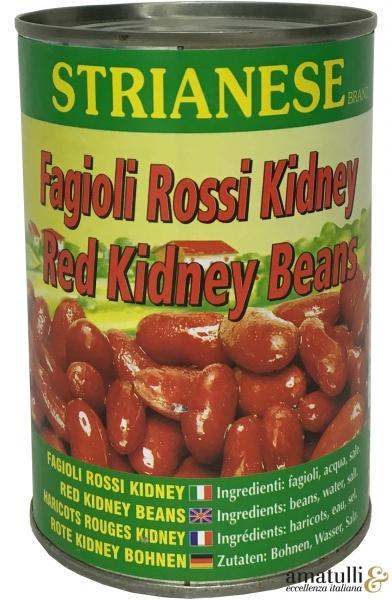 Fagioli Rossi Kidney - rote Kidney Bohnen 400g Dose