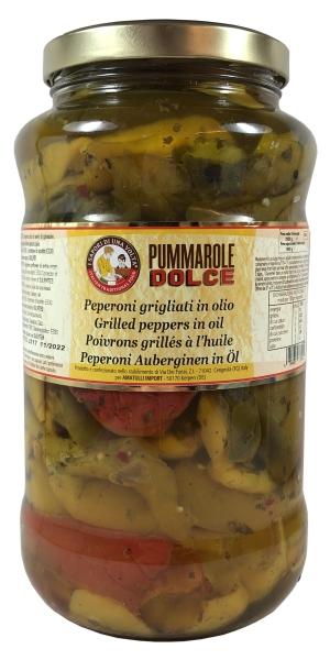Paprika gegrillt - peperoni grigliati in Olio 3100ml