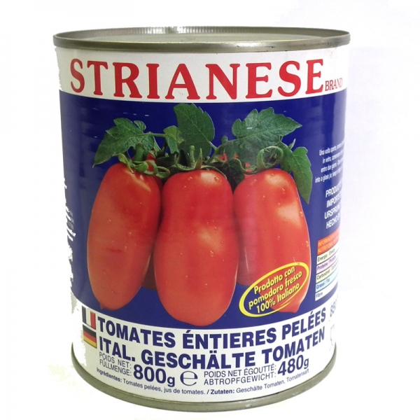 Strianese Pomodori Pelati, geschälte Tomaten 800g