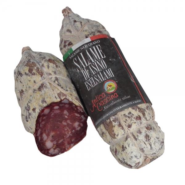 Eselsalami aus Piemont - Salame di Asino 270g