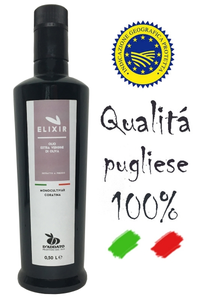 D´Addato - Olio Extra Vergine Di Oliva - Elixir - 500ml