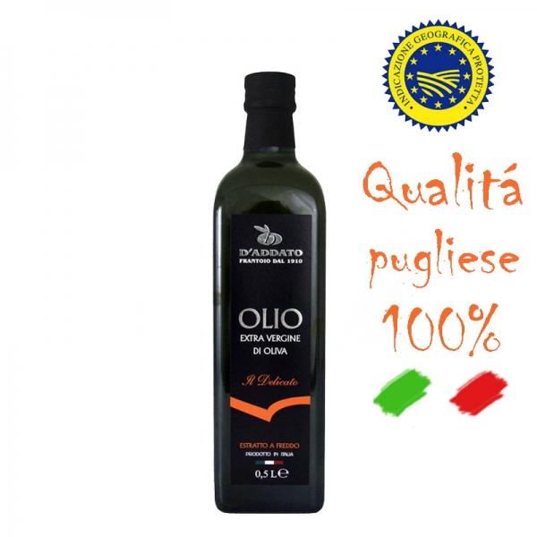 Olivenöl - Olio Extra Vergine - Delicato - 500ml
