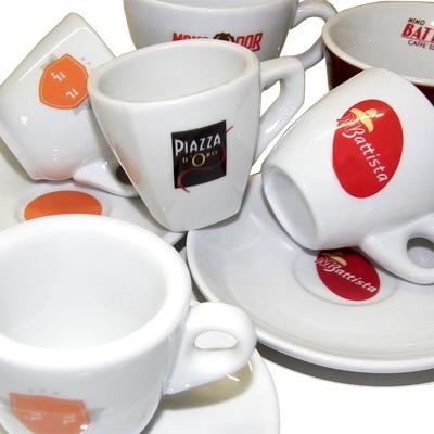 Porzellantassen mit personalisiertem Farbdruck & ihrem Logo / Nuova Point