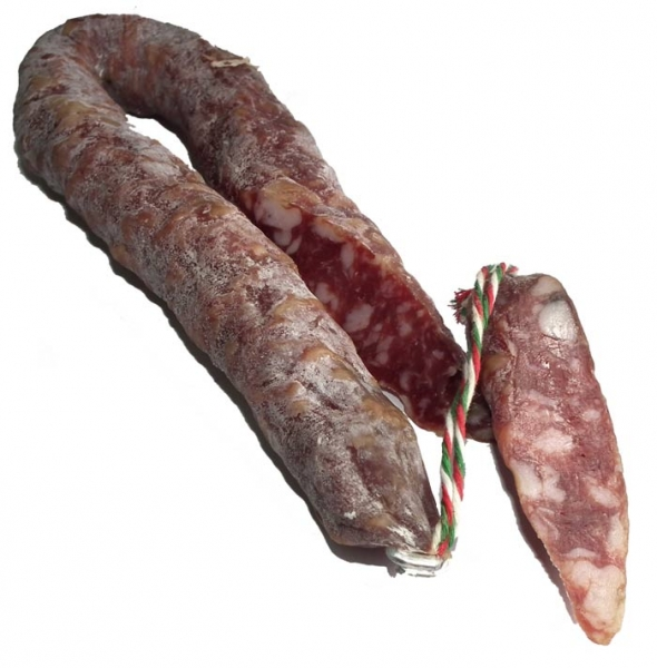 Salsiccia - Salami Schnitt