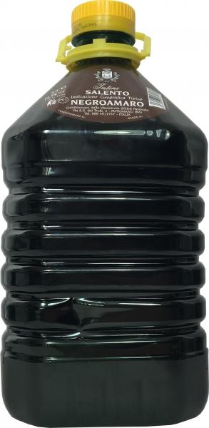 Negroamaro del Salento I.G.T Rosso 13,5% - 5 Liter