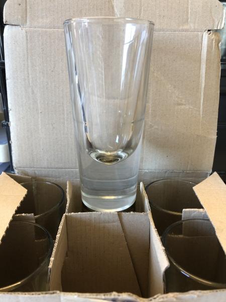2 Gläser für Borsci - Kräuterlikör
