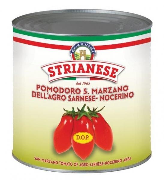 San Marzano DOP Tomaten geschält Pomodori 2550 / 1660 g