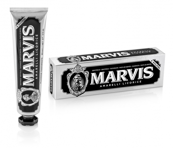 Marvis Amarelli Licorice (Lakritze-Minze) 75ml