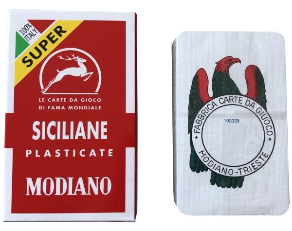 Scopa Spielkarten - Siciliane - Modiano