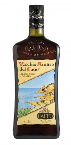 Vecchio Amaro del Capo Käuterlikör - Caffo 700ml