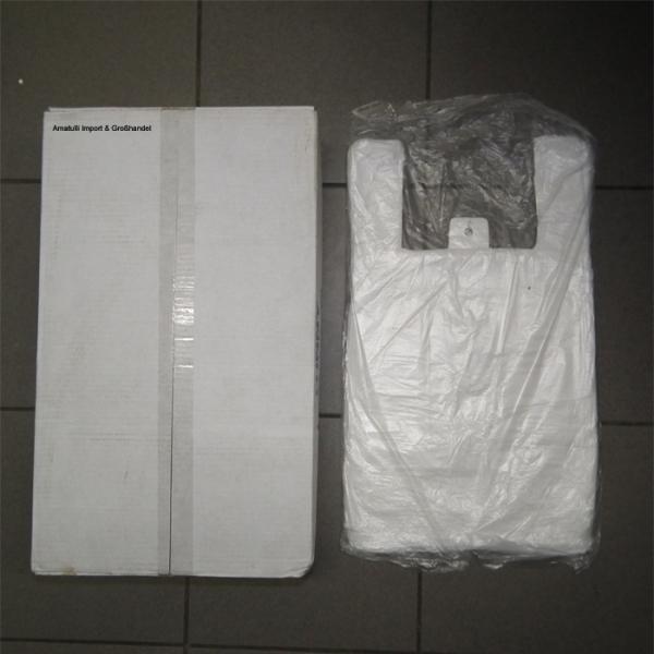 Hemdchentragetaschen Tragetaschen 2000 Stück Weiß AG-433