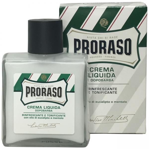 PRORASO Crema Liquida Dopobarba Green - After-Shave Creme 100ml