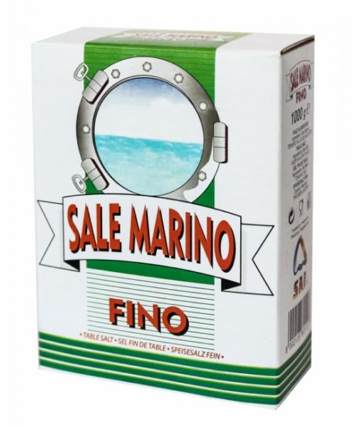 1 Kg Meersalz aus Italien - fein