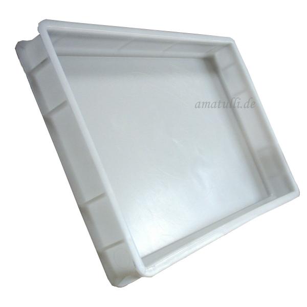 60 x 40 x 7cm - PIZZABALLENBOX - Pizzateigbehälter