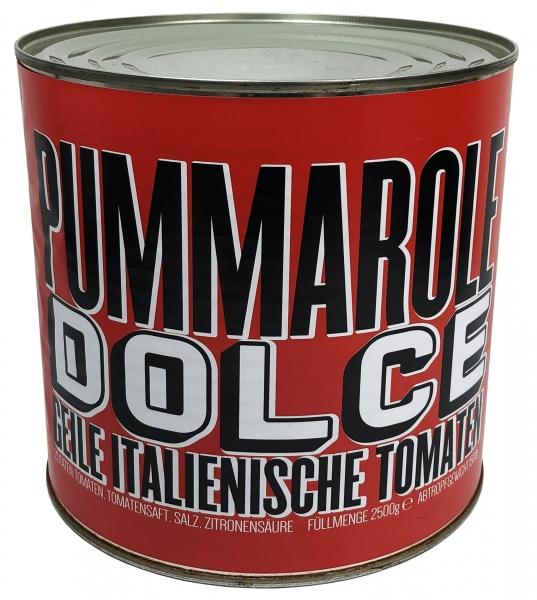 geschälte Tomaten - Pummarole Dolce - 2500g Pomodori Pelati