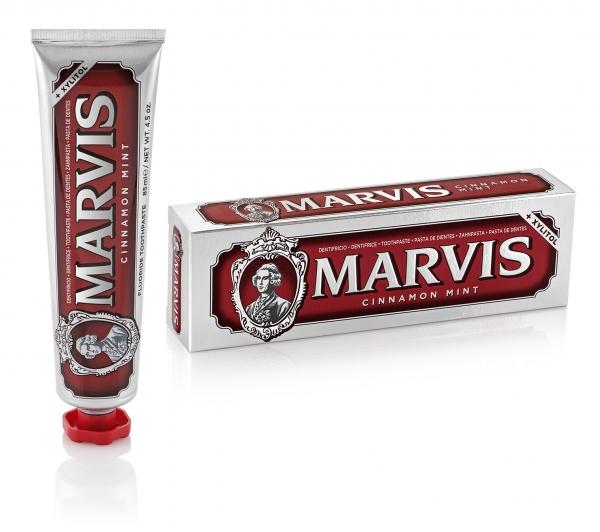 Marvis Cinnamon Mint (Zimt-Minze) 85ml